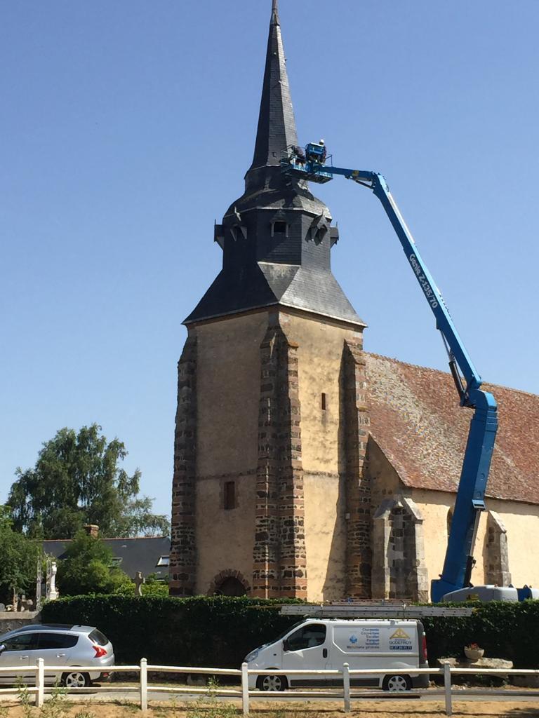 Rénovation église